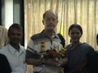 Dr Helmut from Gras Austria Received Panchakarma in 2006