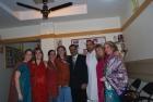 Esther Garcia,Carlos Echeverri, Claudia from Spain in Shashi Clinic for Panchakarma