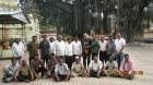 Leons Platacis from Riga latvia Felicitated by Arunodaya Swimming Club Sept 2011