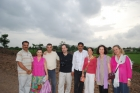 Manuel Dominguez with Halima, Nuria Bernabeu Group from Spain for Ayurveda Panchakarma
