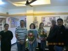 Maria Ojeda & Ona received Diploma Certificate in Practical Trainings in Panchakarma