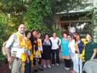Maria Ojeda with Group from Spain 05 Sept 2011