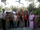 Maria Ojeda with Group from Spain 06th March 2012