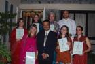 Maria Ojeda, Mercedes , Catherina ,M Fernandes,Joseph, Mariana lamelas ,Caterina from Spain for Panchakarma