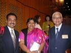 With Indian Ambassador Budapest Hungary 2007