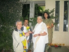 Cristobal from Barcelona Spain received 01 month Deep Panchakarma in March 2011